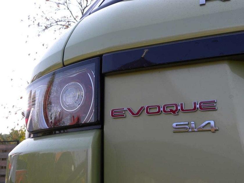 Range Rover Evoque: Pierwsza jazda w Polsce