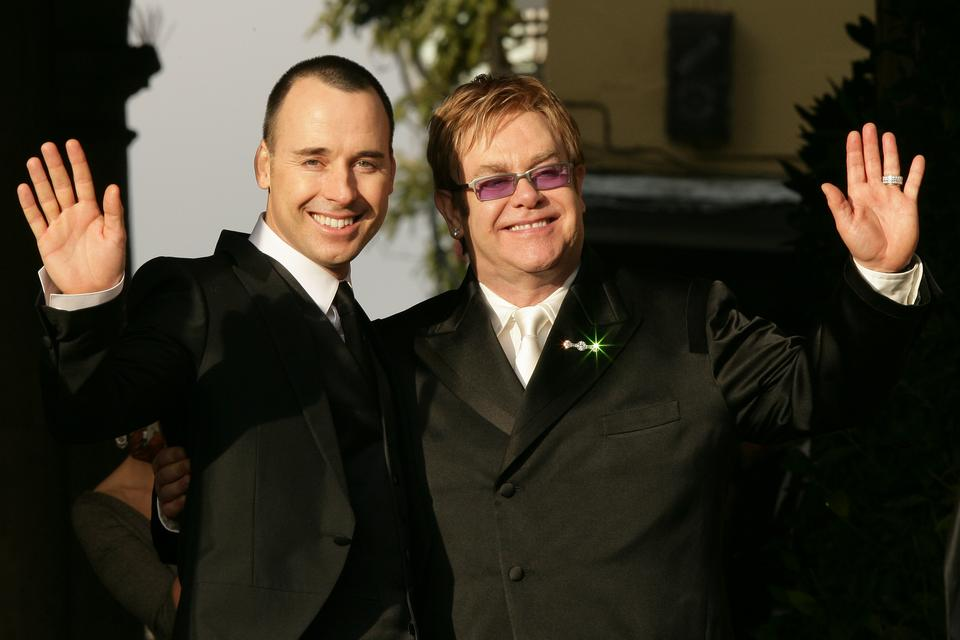 David Furnish i Elton John