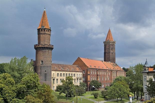 Legnica, zamek