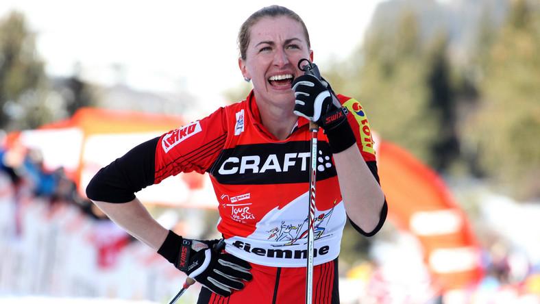 Justyna Kowalczyk - w 2005 roku na mistrzostwach świata w narciarstwie klasycznym w Oberstdorfie w jej organizmie wykryto obecność niedozwolonych substancji