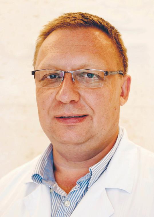 dr Piotr Kretowicz, specjalista w zakresie położnictwa i ginekologii, ultrasonografii oraz diagnostyki prenatalnej. Zajmuje się patologią ciąży, diagnostyką oraz terapią wad wrodzonych i chorób płodu  fot. Łukasz Fojcik/materiały prasowe