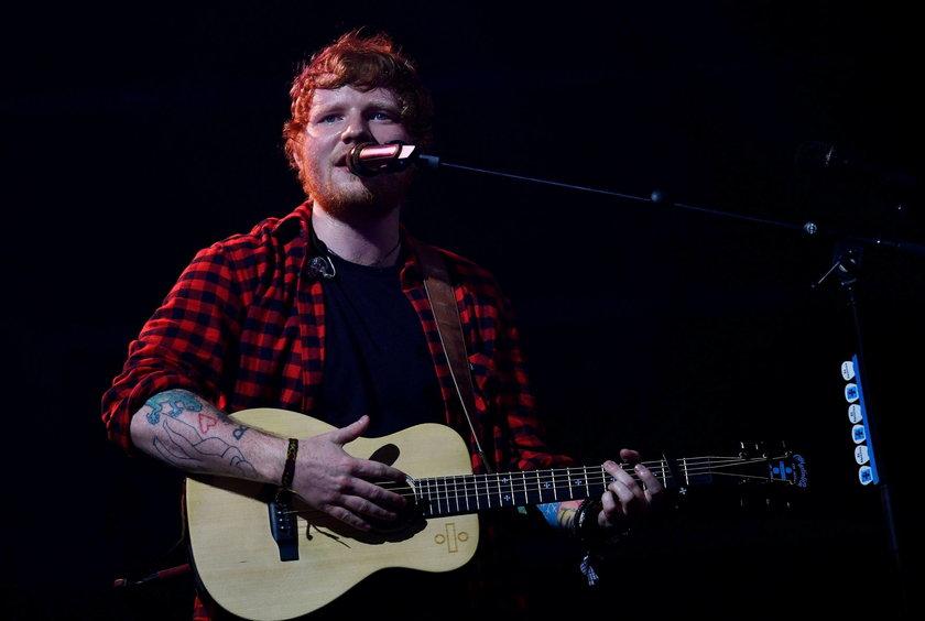 Ed Sheeran Glastonbury Festival
