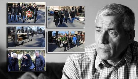 """SAHRANJEN OLIVER IVANOVIĆ """"Milena, heroino, duša boli. Srećna si što si ga volela"""" (VIDEO) 75"""