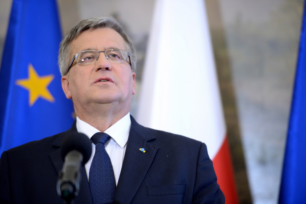 Prezydent Bronisław Komorowski, fot. PAP/Jacek Turczyk