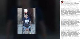 21-latek na wózku poparł strajk kobiet. Zaatakowali go hejterzy