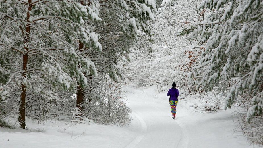 W najbliższy weekend w całej Polsce wystąpią opady śniegu