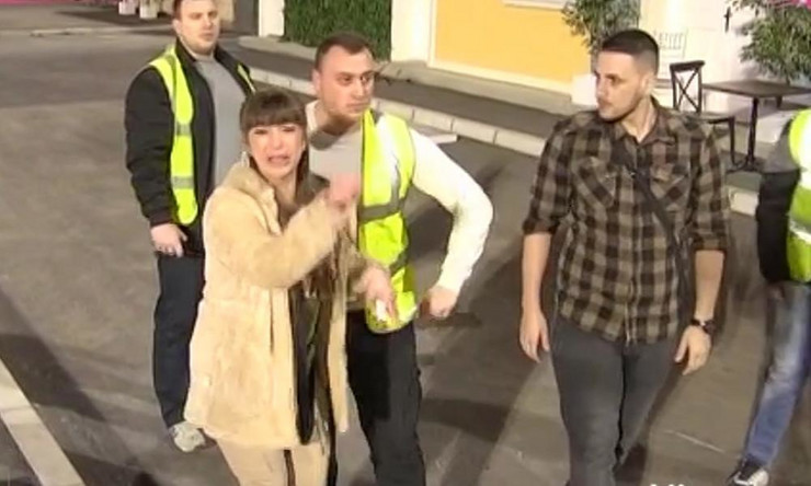 Miljana Kulić šutirala sve i vrištala kroz suze