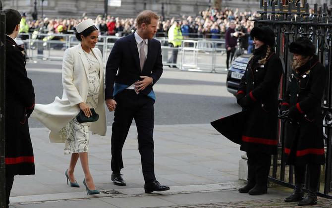 Megan Markl i princ Vilijam pre nekoliko dana u Londonu