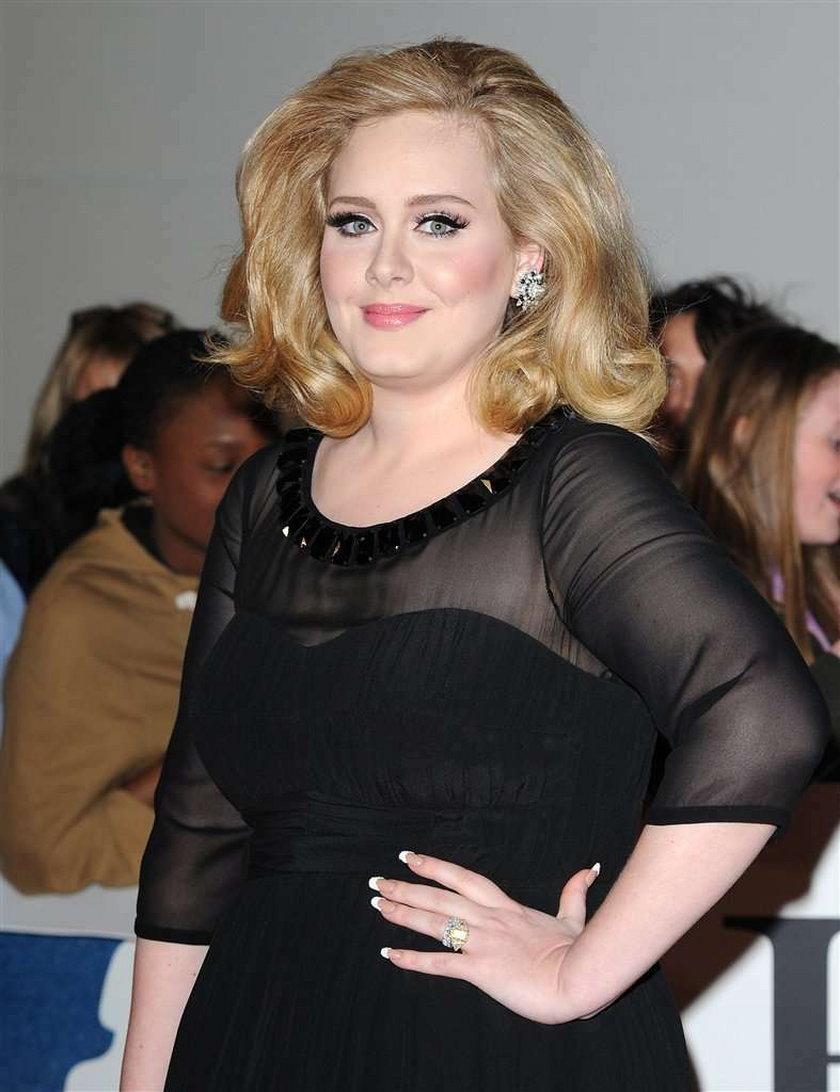 Adele brytyjski Vogue 2011