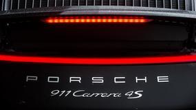 Porsche 911 Carrera turbo - pierwsza jazda