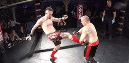 Ojciec małej Madzi wyjechał do Anglii i... walczy w MMA!
