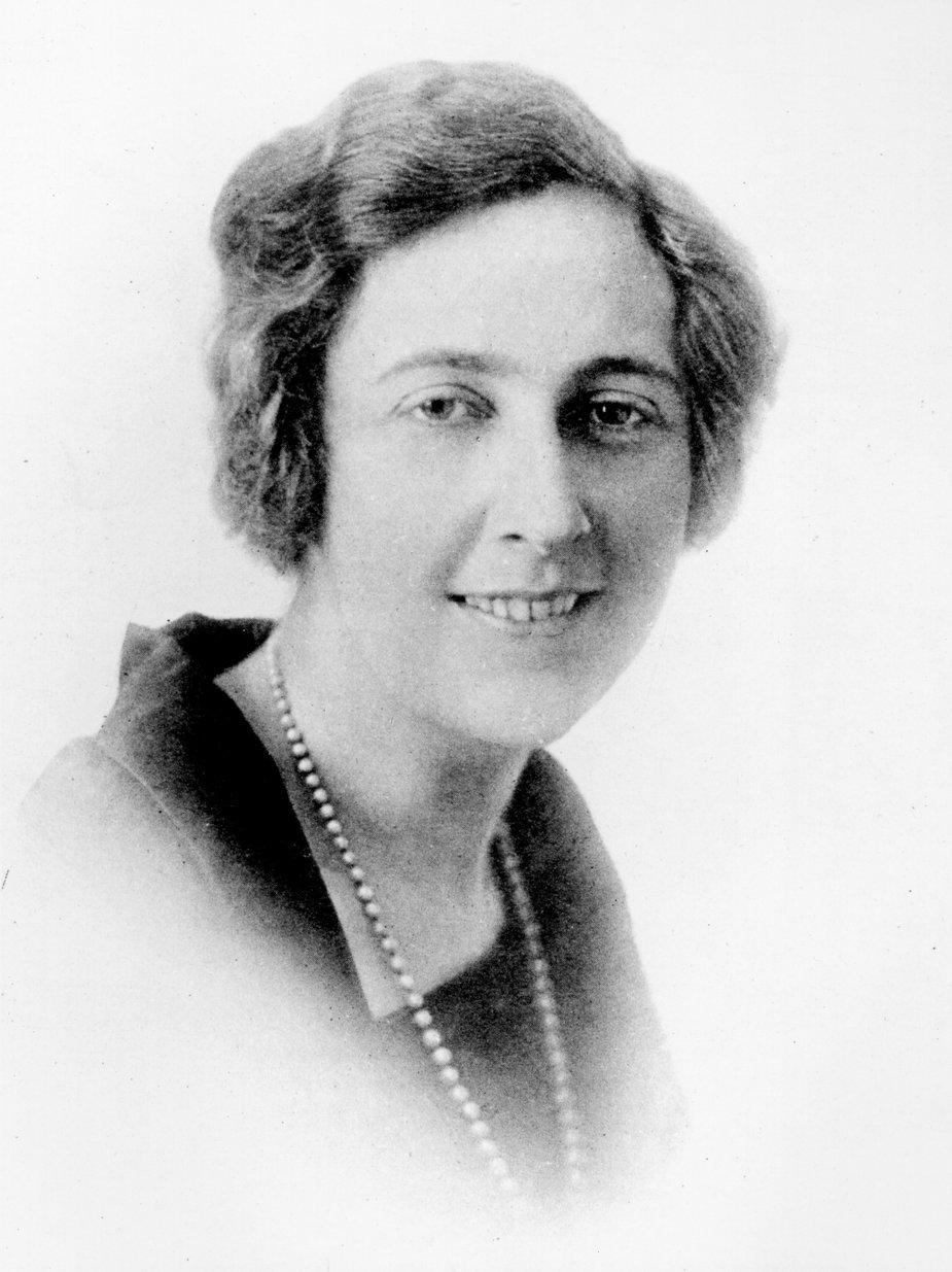 Agatha Christie w 1923 roku