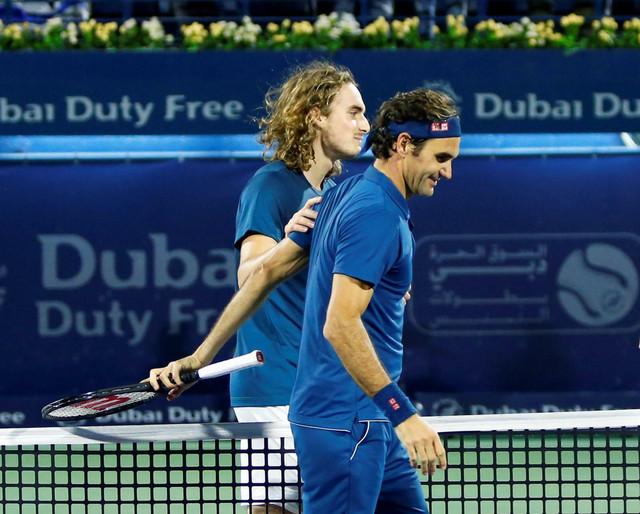 Stefanos Cicipas i Rodžer Federer