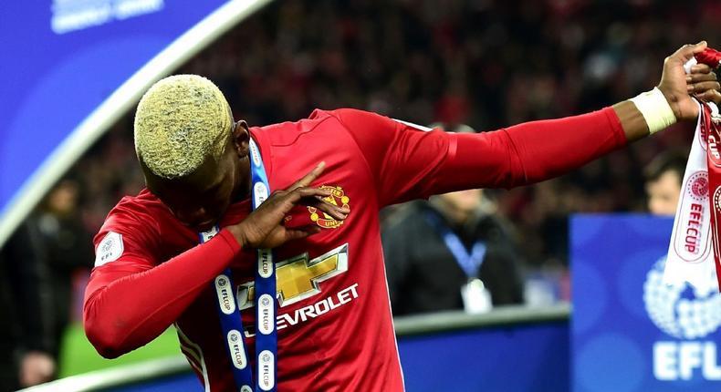 Man United Paul Pogba dab (today's sports news)