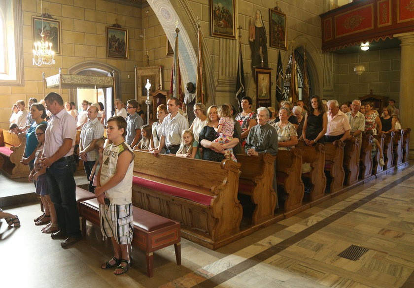 Msza w Lipnicy