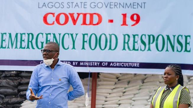 Sanwo-Olu has assured business leaders that his government is committed towards easing the burden of the ongoing lockdown on Lagosians with palliatives that are far-reaching [Twitter/@Jidesanwoolu]