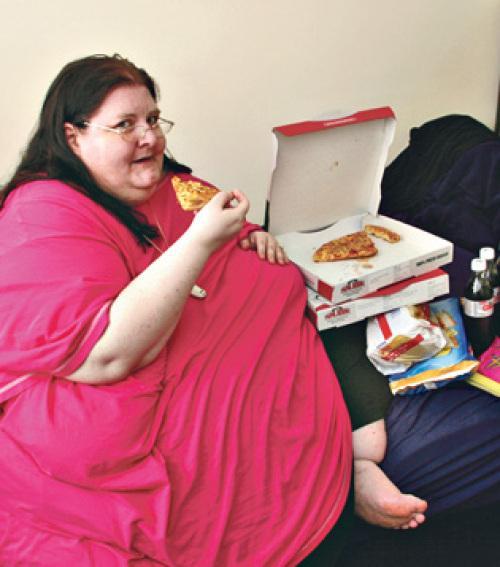 Nem akar fogyni a legkövérebb nő - Blikk