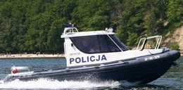 Policjanci ratowali na morzu!