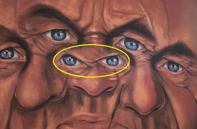 Lice u žutom krugu