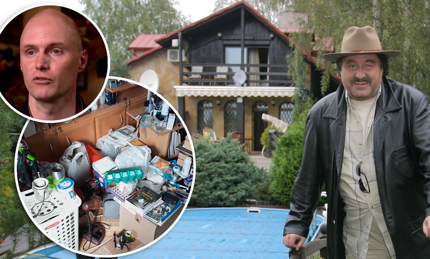 Syn Krzysztofa Krawczyka mieszka w koszmarnych warunkach.