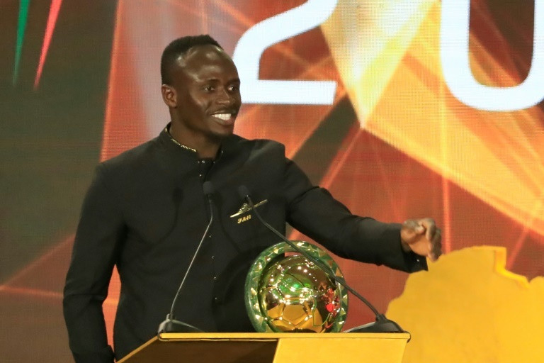Sadio Mane won the biggest award of the CAF Awards 2019
