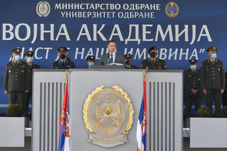 Nebojša Stefanović, ministarstvo odbrane