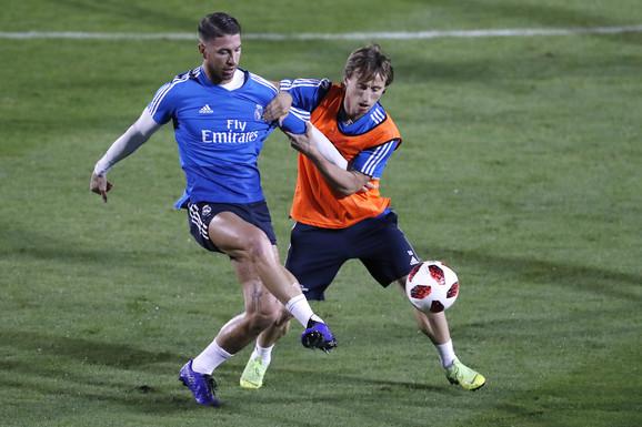 Serhio Ramos i Luka Modrić