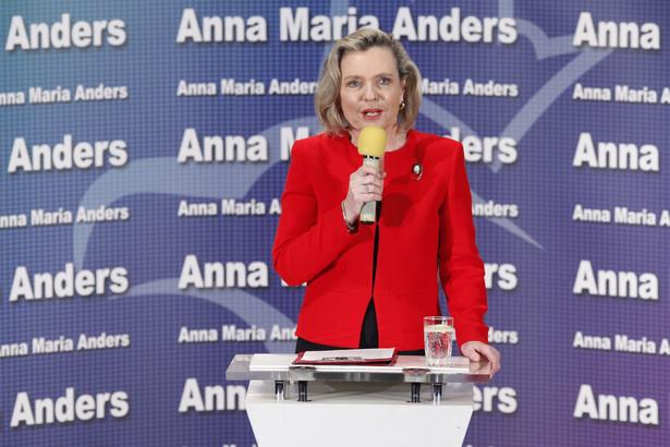 Anna Maria Anders zdobyła mandat senatorski w niedzielnych wyborach uzupełniających w województwie podlaskim.