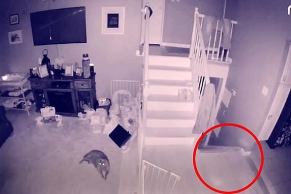 Postavio je kameru u kuću, a kada je pogledao snimak, prebledeo je: Ljudi, šta je ovo u ćošku moje sobe?! (VIDEO)