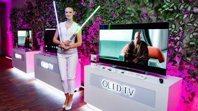 Najlepszy obraz galaktyki na nowych telewizorach  LG OLED TV 2015