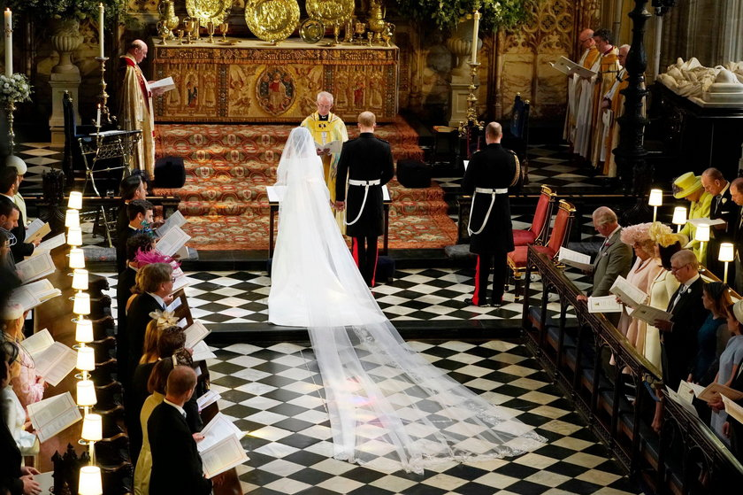 Suknia księżnej Meghan
