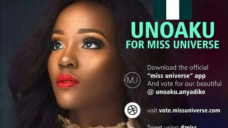 Miss Universe 2016 Vote Mbgn 2015 Unoaku Anyadike To Win See