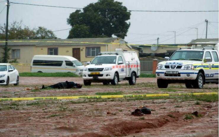 Južna afrika policija AP