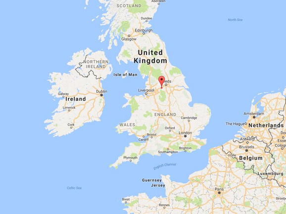 Naselje Slak se nalazi negde na sredini ostrva Velika Britanija