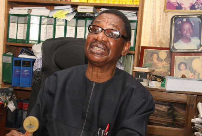 Chairman of the Presidential Advisory Committee Against Corruption (PACAC), Professor Itse Sagay
