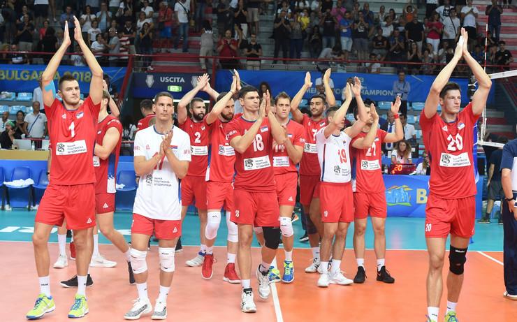 Odbojkaška reprezentacija Srbije, Odbojkaška reprezentacija Tunisa