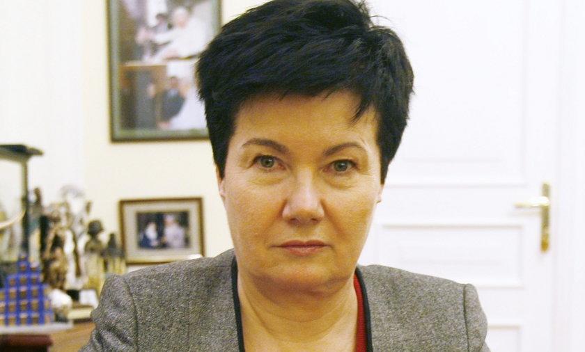 Hanna Gronkiewicz Waltz prezydent Warszawy