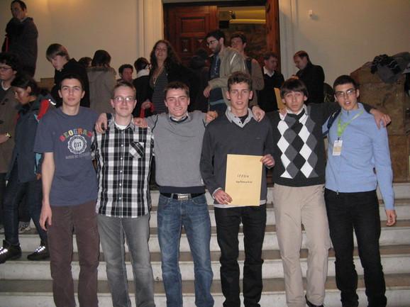 Ekipa matematičara iz Srbije