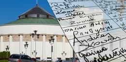 Listy poparcia do KRS ujawnione. Jeden sędzia budzi wątpliwości