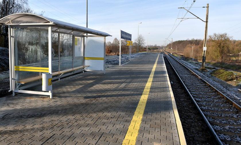 Nowy peron w Tomaszowie Białobrzegach