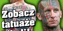 Zobacz tatuaże kiboli!
