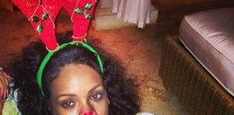 Świąteczny renifer w wydaniu Rihanny