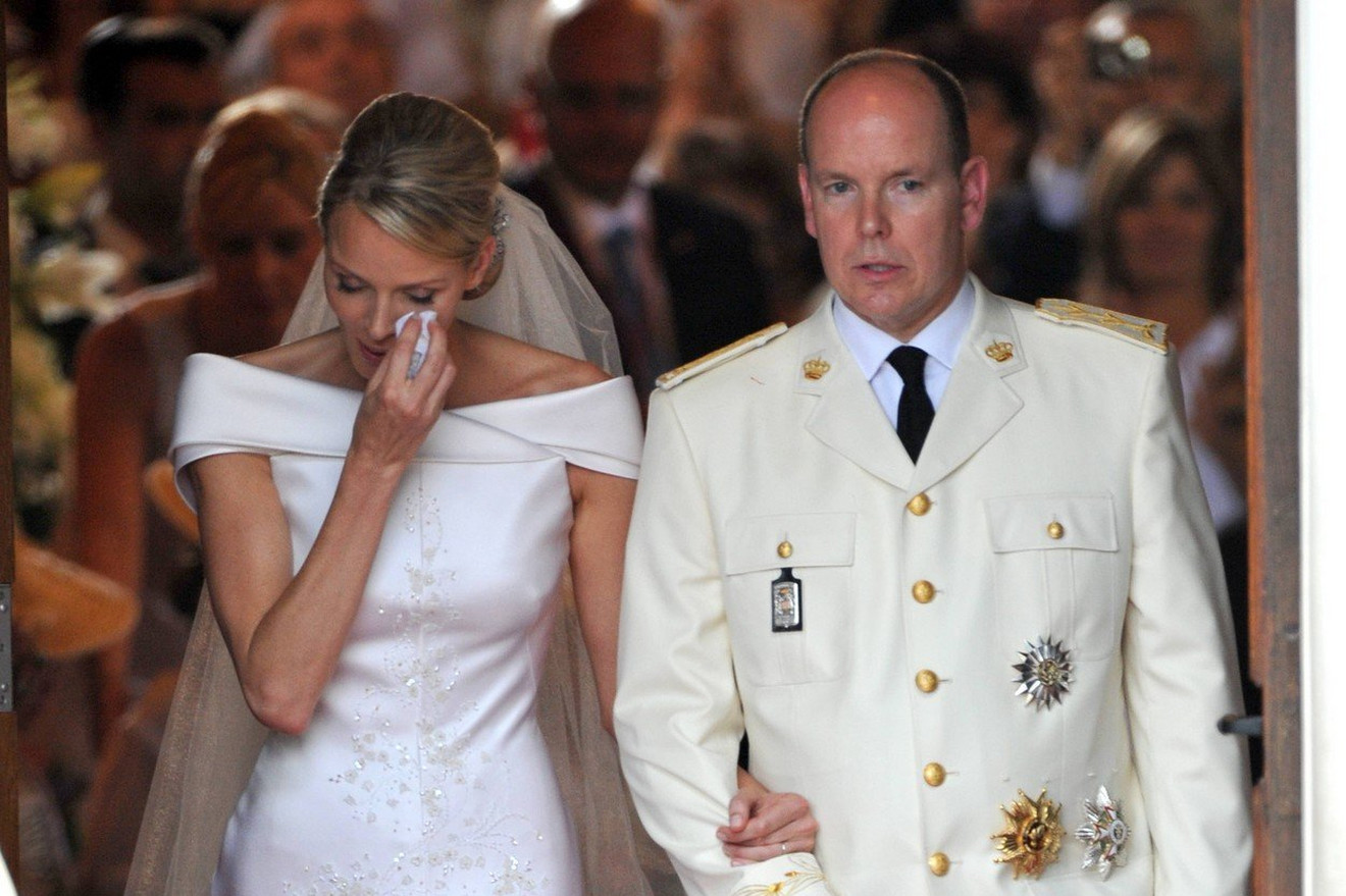 Princ Albert od Monaka II i princeza Šarlin