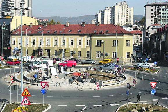 Spomenik će biti postavljen na novom kružnom toku