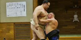 Krzysztof Hanke ruszył na mistrza sumo