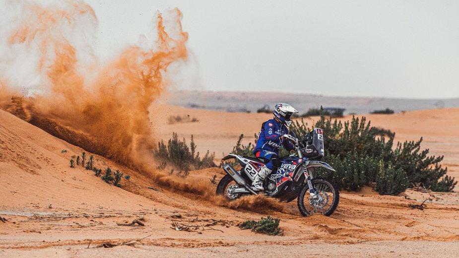 Maciej Giemza Dakar 2021