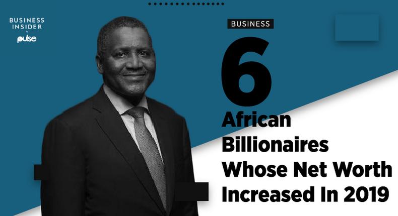 Africa's richest man, Aliko Dangote's net worth increased by $4 billion year-on-year
