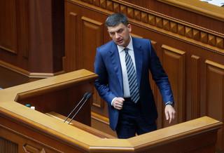 Ukraina: Parlament odrzucił wniosek o dymisję premiera Hrojsmana