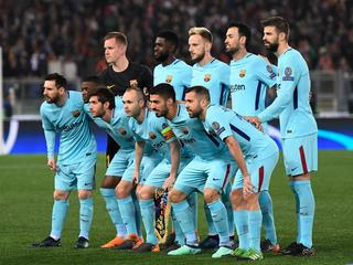 AS Roma vs FC Barcelona - UEFA Champions League