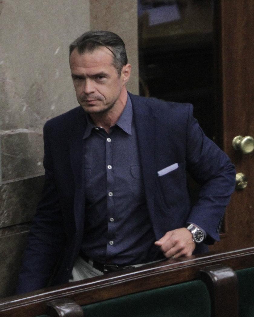 Sławomir Nowak, posełPO i skompromitowany minister infrastruktury.